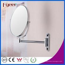 Fyeer espejo de maquillaje montado en la pared de doble lado de circulación (M0118)