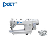 DT 8000 single needle top and bottom feed lockstitch flatbed sewing machine