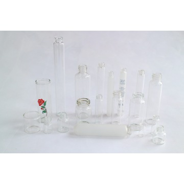 Clear and Amber Cosmetic Glass Vial Bottle by Neutral Glass Tube