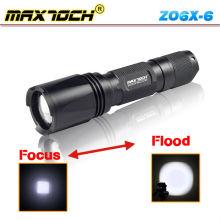 Maxtoch ZO6X-6 exquisita alta potencia antorcha linterna portátil