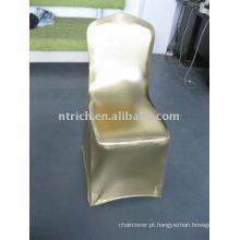 luxo!!! Capas de cadeira de ouro metálico, casamentos capas de cadeira, brilhante