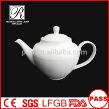 P&T porcelain factory nice shape tea pot, coffee pot for hotel