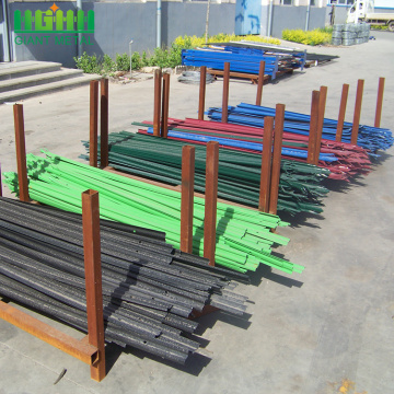 Factory+Multiple+Color+Powder+Coated+Steel+Palisade+Fence