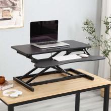 Ergonomic Height Adjustable Computer Desk Converter
