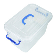 Crystal Multifunctional Plastic Storage Box with Handle (SLSN047)