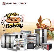 Equipo industrial de la panadería Gas Pita Horno eléctrico francés del pan