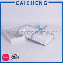 Boîte d'emballage blanche de boîte d'emballage de bandeau pour le bandeau