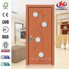 JHK-G  Manway PVC Sigh Glass Oval Louver Doors