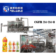 Machine d'embouteillage de jus de fruit de bouteille d'animal familier (CGFR24-24-8)