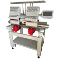QY-2-CT 2 heads computerized embroidery sewing machine