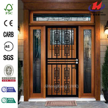 412 Series Black Silver Security Door