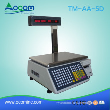 Heavy duty stainless steel digital price computing scale