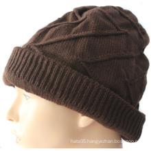 Warm Women Winter Hat with Logo Customized
