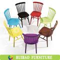 Hoch zurück stilvolle tragbare antike Holz Barcelona Stuhl