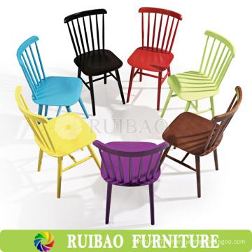 Chaise haut de gamme en bois antique antique en bois