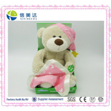 Musical Plush Doll Cute Electronic Teddy Bear Plush Toy