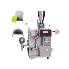 Automatic tea bag packing machine with label