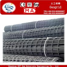 Hengruitong Export Steel Plastic Geogrid para reforzar el suelo