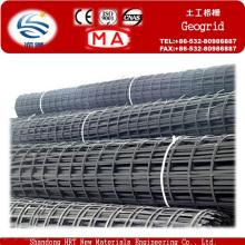 Gegrid de plástico de aço de exportação Hengruitong para reforço de solo
