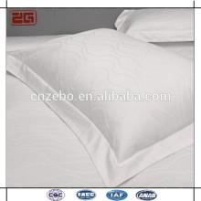 Hochwertige weiße Baumwolle 5cm Border Rechteck Kissenbezüge