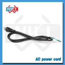 Fábrica al por mayor mejor calidad EE.UU. ac 110v cable de cable de alimentación para la plancha de pelo