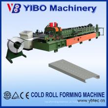 Estrutura metálica Cee Tipo de aço galvanizado aço Purlin faz a máquina