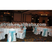 Satin chair covers,banquet/hotel/wedding chair covers