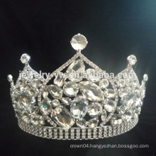 Fashion Rhinestone Pageant Crown For Sale wholesale pageant crowns beauty pageant crown