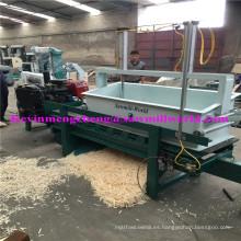 2 Axle 8 cuchillas 22 HP Diesel Engine máquina de afeitar de madera (500kg / hora por Fresh Log)
