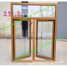 Middle East Teak Wood Aluminum Window