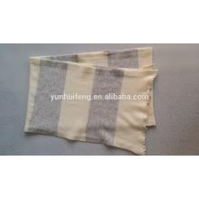 Écharpe à tricoter en cachemire