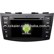 Android System car dvd player for Suzuki Swift with GPS,Bluetooth,3G,ipod,Games,Dual Zone,Steering Wheel Control