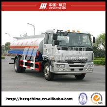 Semirremolque de transporte de líquidos químicos (HZZ5165GHY) con alta seguridad