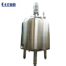 Tanque de almacenamiento de agua líquida sanitaria de gran capacidad de acero inoxidable