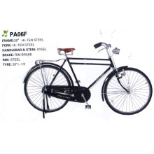 "Africa 28"" Double Bar Hiten Steel Frame Traditional Bicycle (FP-TRDB-050)"