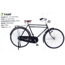 """África 28 """"bicicleta tradicional da armação de aço de Hiten da barra dobro (FP-TRDB-050)"""