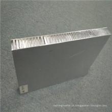 Painéis de parede de divisão de alumínio Honeycomb Fireproof