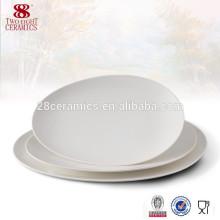 assiette ovale faite sur commande de plat de mélamine de vaisselle