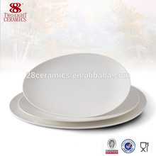 дешевые пользовательские посуда меламин пластины овальной плиты