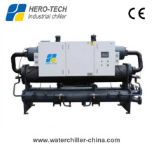 300HP Low Temperature Water Cooled Glycol Screw Chiller for Plastics Industry