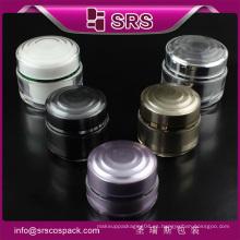 Tarro de plástico y envases de cosméticos Envase de acrílico fácil de alta calidad