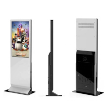 Interactive information guiding digital signage kiosk, optional wheels and Windows or Android Floor standing
