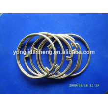 2016 popular hot selling metal ring and elegant hook and loop with cheap price