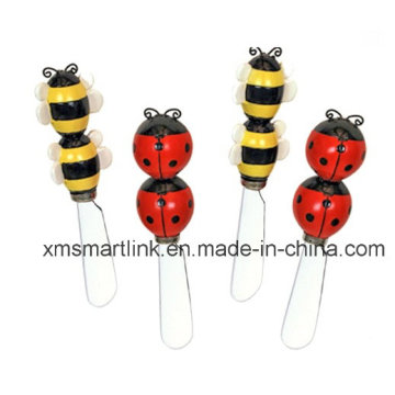 Ladybug Handle Butter Spreader, Stainless Steel Butter Knife, Cheese Tool