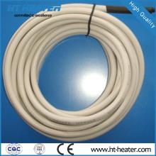 Traza de calor de tubería flexible de caucho de silicona
