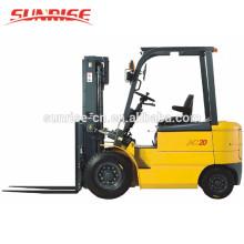 Chine marque HELI 2.5 tonne vente chaude électrique chariot élévateur