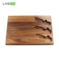 Cheese Cutting Cheese Board Set com conjunto de talheres
