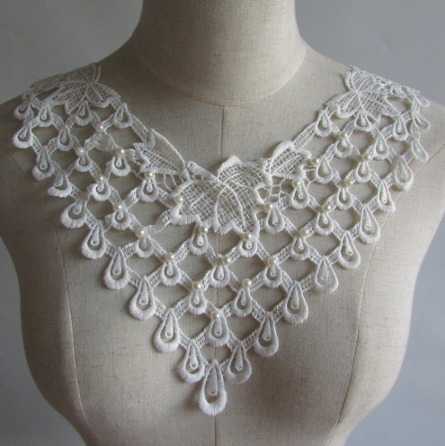 embroidery applique collar