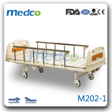 M202-1 Deux manivelles main contrôle lit de patient mécanique