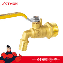 TMOK china supplier wholesale 3/4 inch water use best price brass bibcock with safety structure